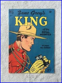 Zane Grey's KING Four Color #283 July 1950 Dell CGC 6.5 and FREE reader copy